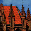 Gothic in Vilnius - Stock Photo