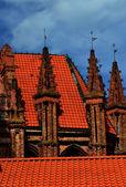 Gothic in Vilnius — Stock Photo