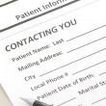 Patient Form — Stock Photo #40513283