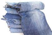Hintergrund-jeans — Stockfoto