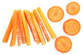 Sweet and fresh carrots vegetable — Stock Photo