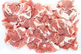 Fresh red chopped meat — Stock Photo