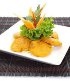 Fish Cake Tod Mun Pla — Stock Photo