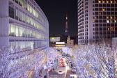 Tokyo street Illuminations — Stock Photo