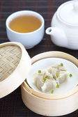 Chinese steamed dumpling — Stock Photo