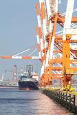 Cargo freight ship — Stock Photo
