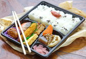 Japanese lunch box — Stock Photo