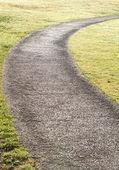Sentier de la pierre au parc — Photo