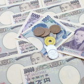 Japanese yen notes. — Stockfoto