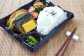 Japanese Meal in a Box (Bento) — Stock Photo