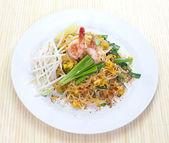 Fideos de arroz salteados — Foto de Stock