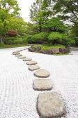 Zen stones path — Stock Photo