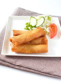 Fried Egg Rolls — Foto de Stock