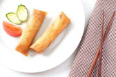 Fried Egg Rolls — Photo