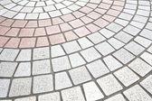 Street floor tiles — Stock Photo