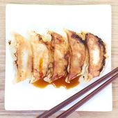 Fried Dumplings — Stock Photo