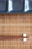 Asian table setting — Stock Photo
