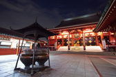 Japanese red pagoda ,Tokyo — Stock Photo