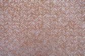 古い錆びたスチールの床 — ストック写真