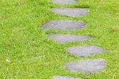 Zen kamenná cesta — Stock fotografie