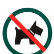Stock Photo: No dogs or pets