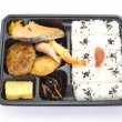 Stock Photo: Japanese ready-made lunchbox