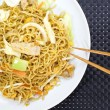 Chinese stir-fried noodles — Stock Photo #40791405