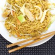 Chinese stir-fried noodles — Stock Photo #40791441