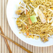 Chinese stir-fried noodles — Stock Photo #40792801