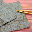 Stock Photo: Nori sheets