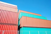 Containers shipping — Stock Photo