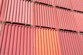 Freight shipping containers texture — Stock Photo