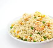 Shrimp fried rice — Stock Photo