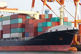 Vracht vrachtschip — Stockfoto