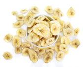 Banane fresche fette — Foto Stock