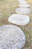 Zen taş yolu — Stok fotoğraf