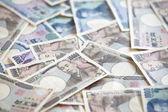 Japonca yen notları. — Stok fotoğraf