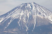 Mountain Fuji in winter — Stock Photo