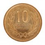 Japanese yen coin — Stock Photo #48151677