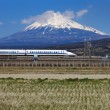 Mt Fuji and Tokaido Shinkansen — Stock Photo #49120659