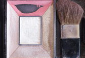 Face powder box — Stock Photo