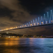 Istanbul bosphorus bridges - Stock Photo