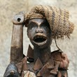 Especially old statue African ornament - Stock Photo