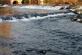 Vodní vlny — Stock fotografie