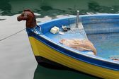 Boat on lake — Stock Photo