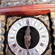 Detail of old wall clock — Stok Fotoğraf #23641749