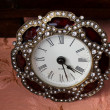 Detail of old wall clock — Stock Photo #23646111