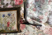 Handmade pillow — Stock Photo