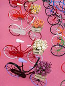 Miniature bicycles — 图库照片