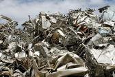 Scrap metal — Stock Photo